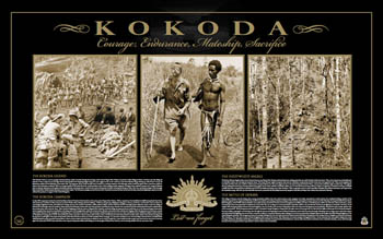 Kokoda - Courage, Endurance, Mateship, Sacrifice