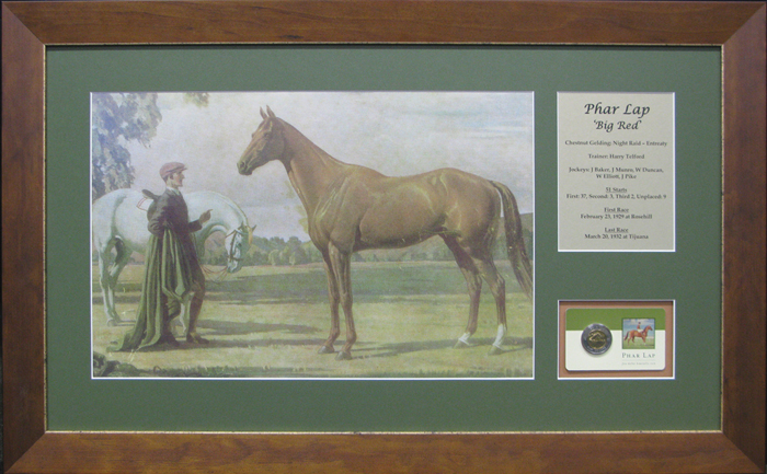 Pharlap Special Coin Piece